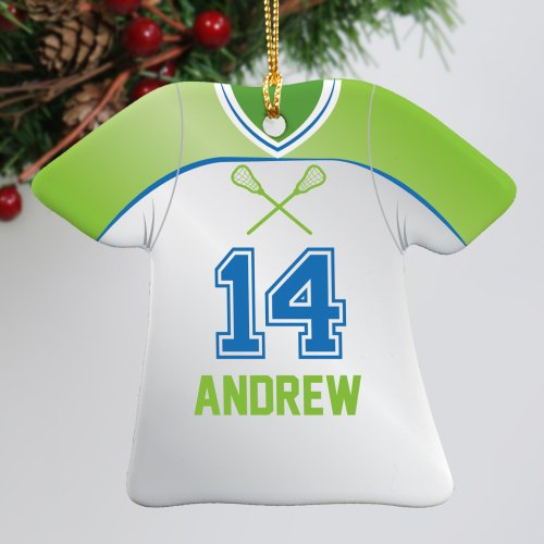 Lacrosse Ceramic Ornament U796463