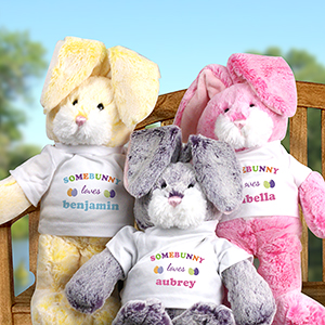 Personalized Somebunny Loves Me Easter Bunny PA310001EX