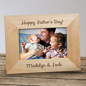 Engraved Happy Father's Day Picture Frame 910275X