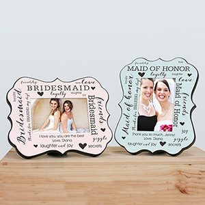 Personalized Bridal Party Benelux Frame U11102103