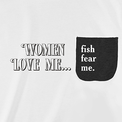 Women Love Me Pocket T-Shirt PT311222X