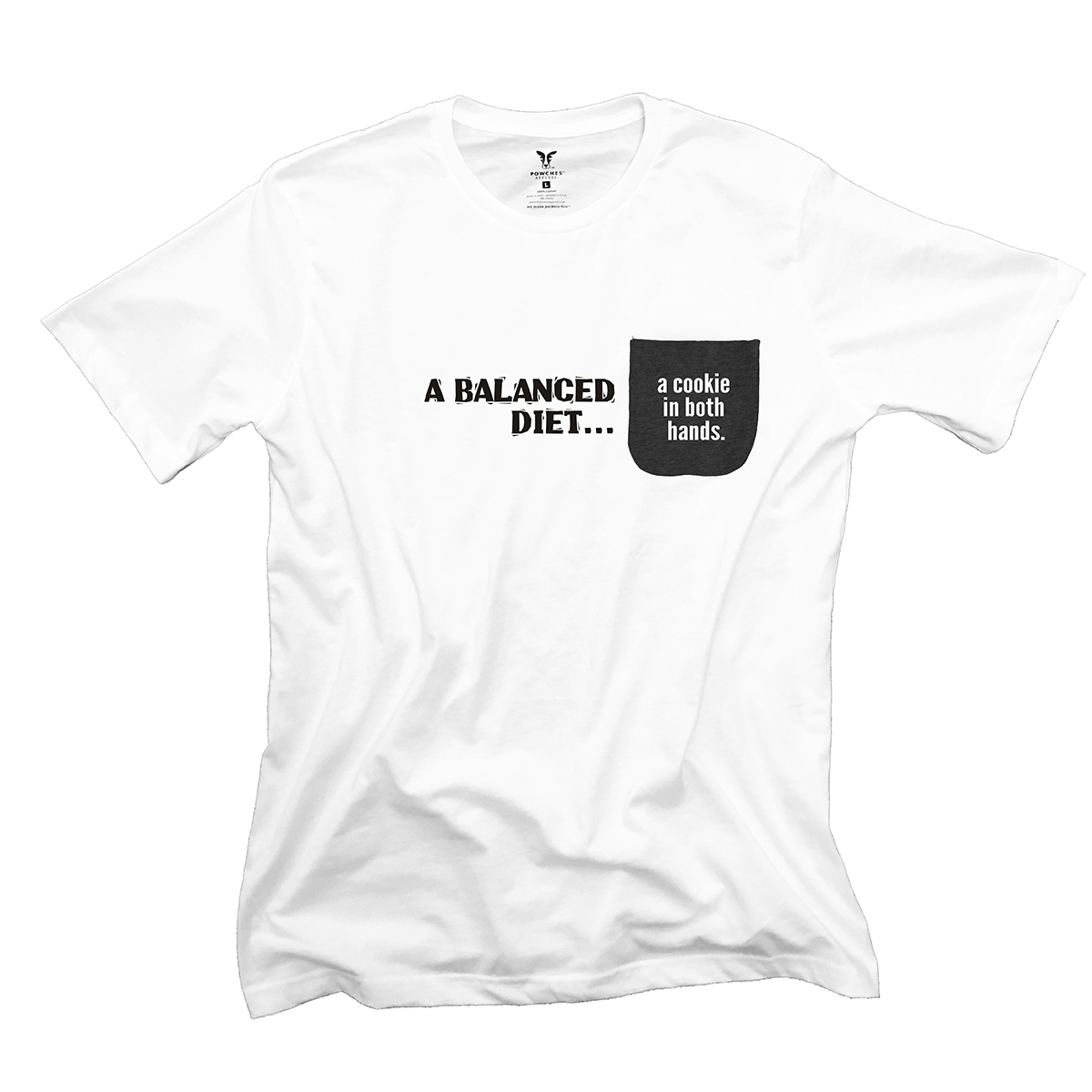 A Balanced Diet Pocket T-Shirt PT311227X