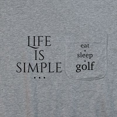 Life Is Simple Pocket T-Shirt PT311292X