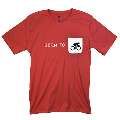 Born To Bike Pocket T-Shirt PT311303X