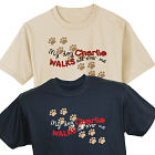 Personalized Walks All Over Me T-Shirt