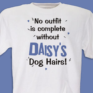 Dog Hairs T-shirt