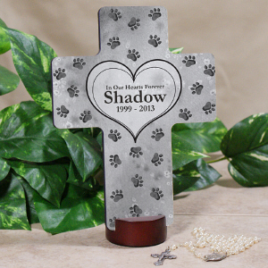 Personalized Pet Memorial Cross