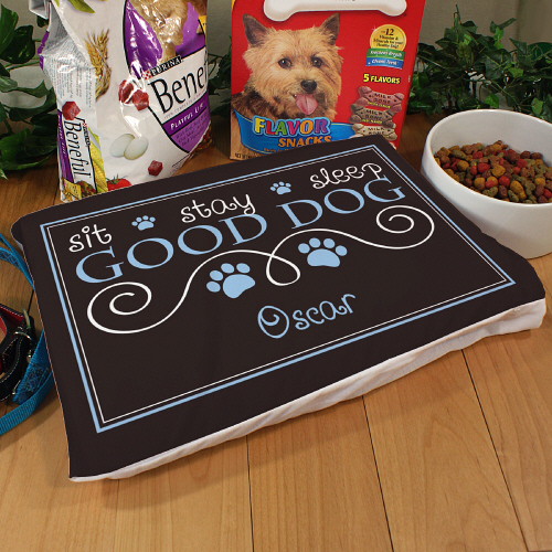 Personalized Good Dog Pet Pillow 83070986