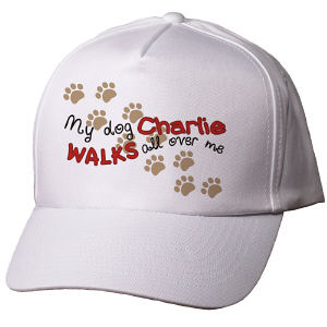 Personalized Walks All Over Me Hat