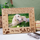 Personalized Dog Memorial Picture Frame