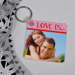 Love Is...Photo Key Chain