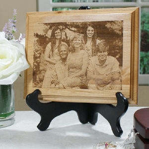 Personalized Photo Wood Plaque | Mother Day Plaques