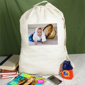 Picture Perfect Photo Laundry Bag