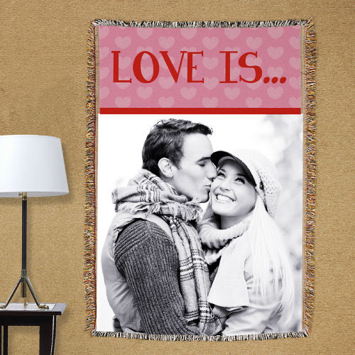 Love Is...Photo Tapestry Throw Blanket 83062715