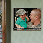 Picture Perfect Military Photo Wall Canvas