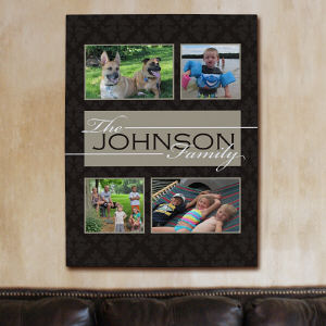 Family Collage Photo Wall Canvas
