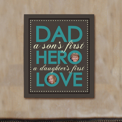Dad Photo Canvas | Personalized Father's Day Gifts