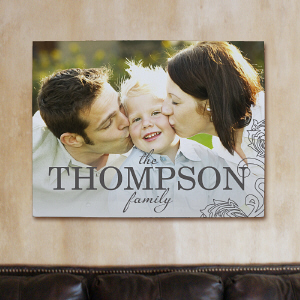 Personalized Family Photo Wall Canvas 917580X