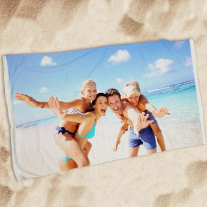Picture Perfect Photo Beach Throw