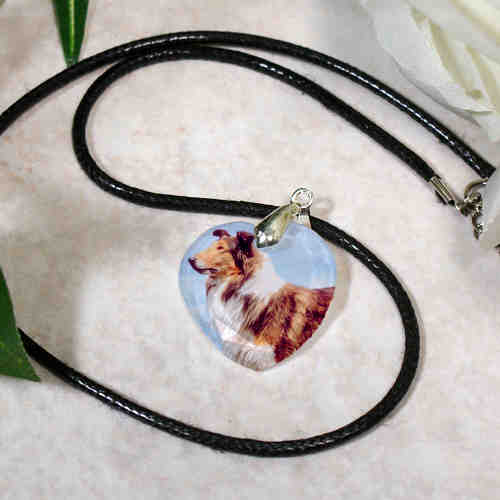 Picture Perfect Crystal Heart Pendant | Personalized Photo Gifts