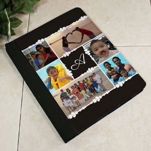 Monogram Photo Collage iPad 2 Notebook Holder