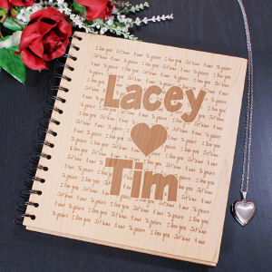 Engraved I Love You Photo Album