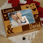 Engraved Couples Photo Keepsake Box 719776
