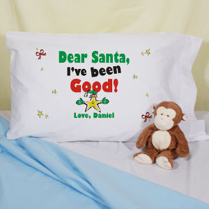 Dear Santa Pillowcase