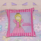 Personalized Princess Throw Pillow