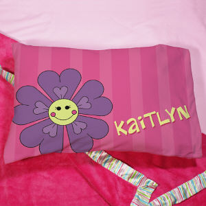 Personalized Flower Pillow | Personalized Pillow Cases