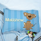 Personalized Puppy Youth Pillow