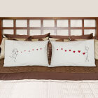 Blowing Kisses Pillowcase Set