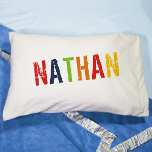 Personalized Any Name Pillowcase