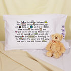 Personalized Our Father Prayer Pillowcase