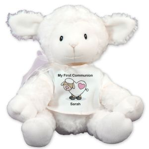Personalized First Communion Lamb
