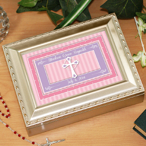 Personalized Religious Music Box