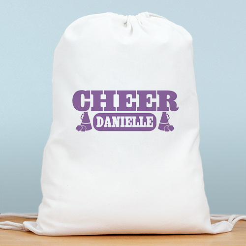 Personalized Cheerleader Sports Bag