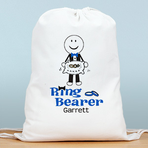 Personalized Ring Bearer Sports Bag | Ring Bearer Bags