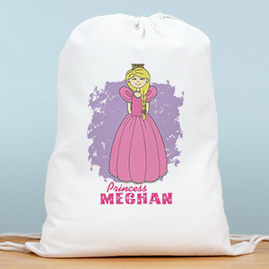 Personalized Princess Sports Bag SP836602