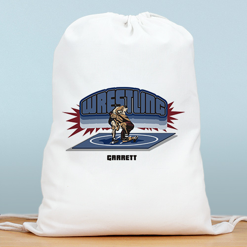 Personalized Wrestling Sports Bag SP838012