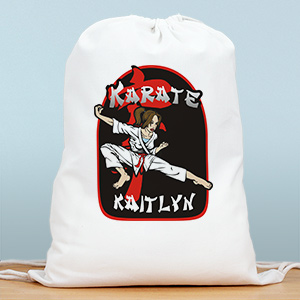 Personalized Karate Sports Bag SP838022