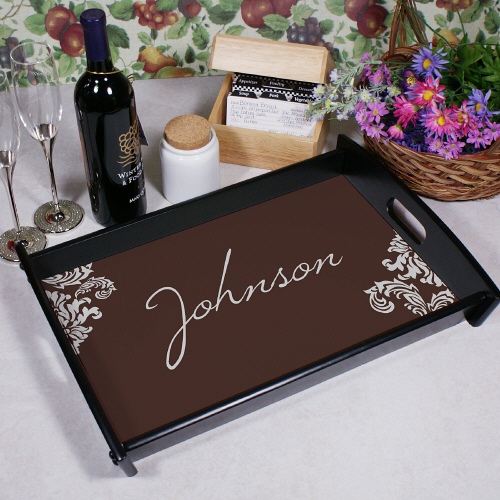 Personalized Family Welcome Serving Tray 47423ST