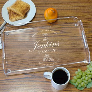 Family Vineyard Serving Tray