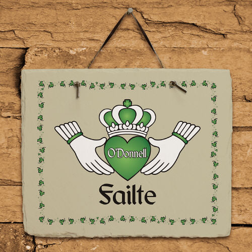Personalized Failte Irish Slate Plaque | Personalized Welcome Signs