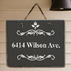 Filigree Personalized Slate Plaque 63135567