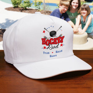 Personalized Hockey Parent Hat