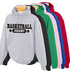Personalized Basketball Hooded Sweatshirt