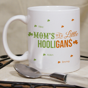Personalized Wee Little Hooligans Mug