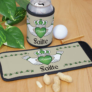 Personalized Irish Can Wrap Koozie