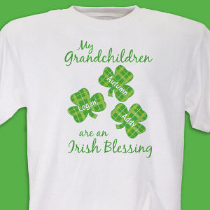 Irish Blessings Personalized T-Shirt